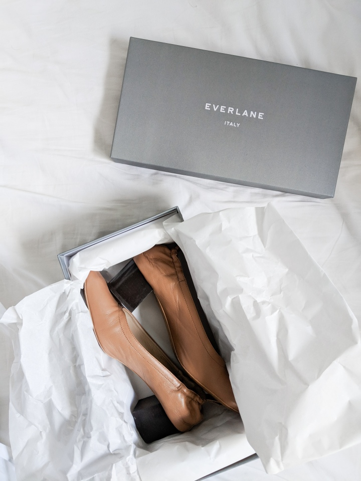 everlane day heel review pecan