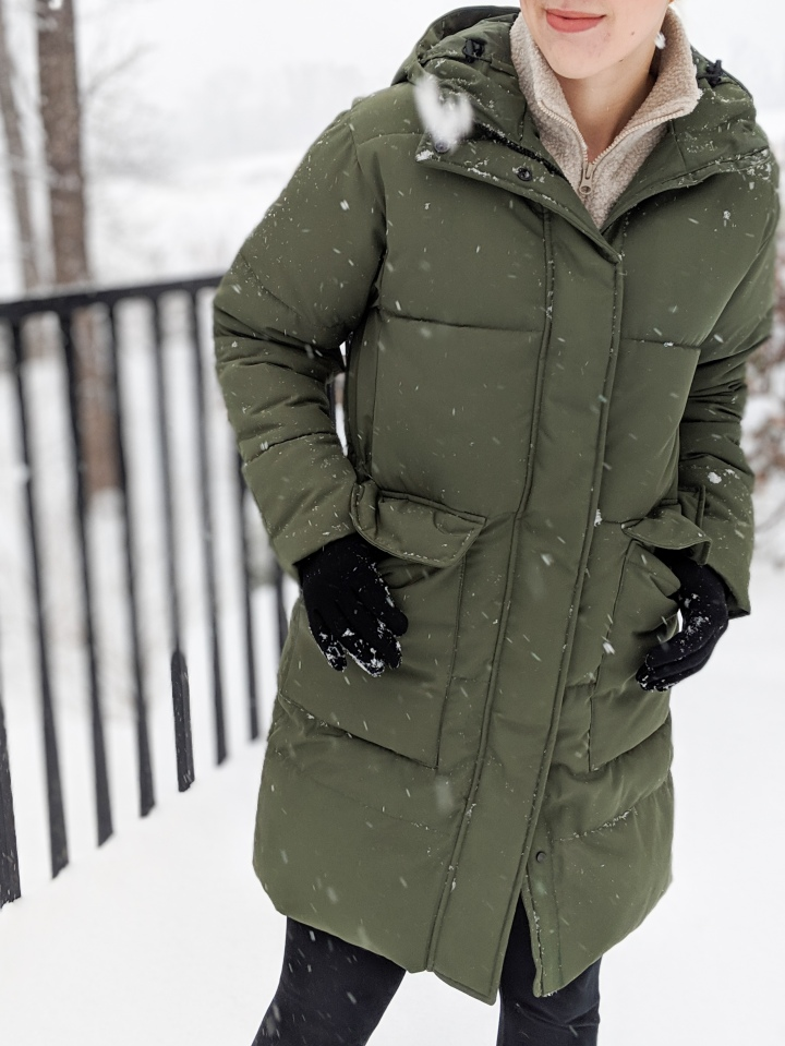 Review: The Everlane ReNew Long Puffer