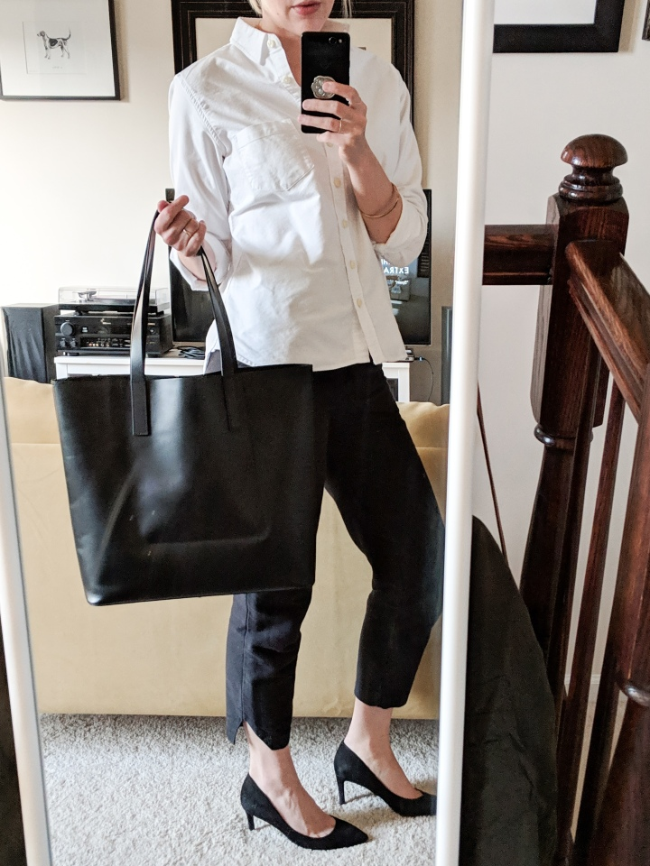 everlane day square tote review