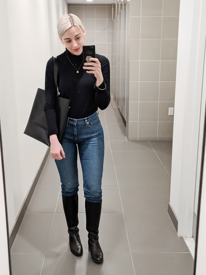 What I Wore | Ponte Pants Are Everything