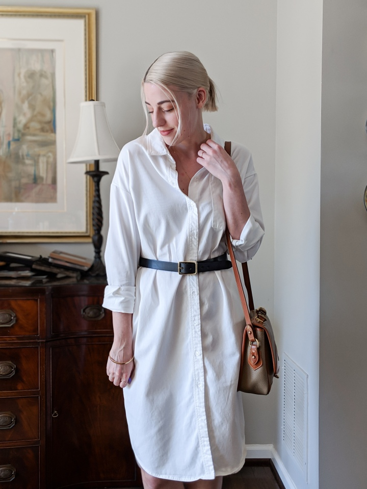 Review: The Versatile Shirt Dress I'm Living In This Spring