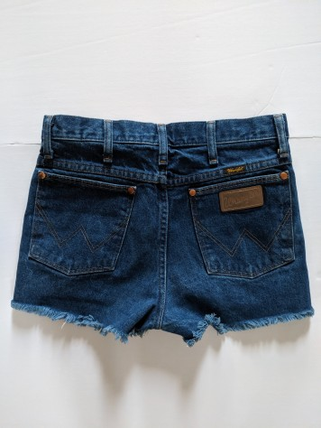 reformation jean shorts back