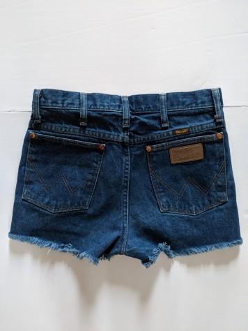 reformation jean shorts back