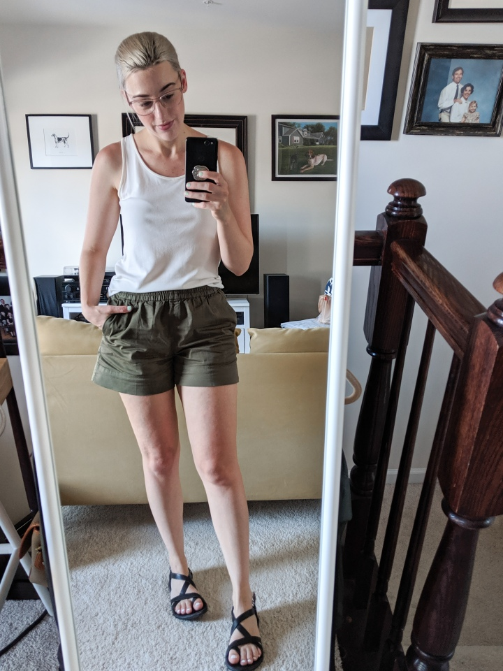 everlane easy chino shorts review