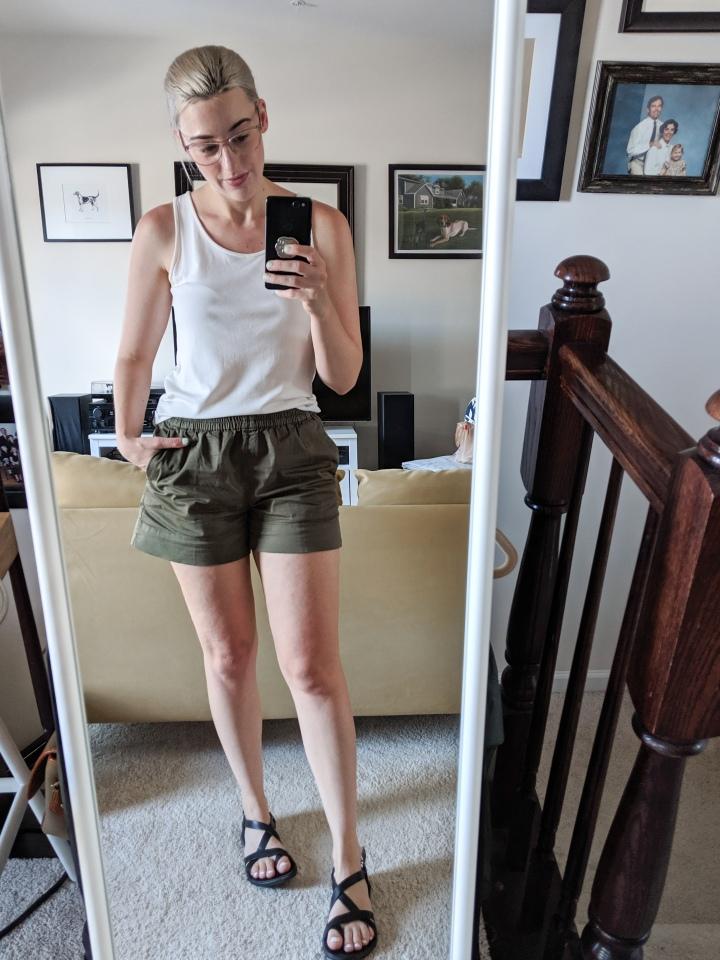 everlane easy chino shorts review