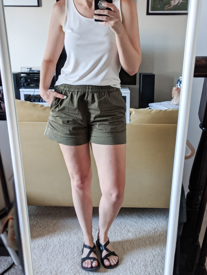 everlane easy chino shorts
