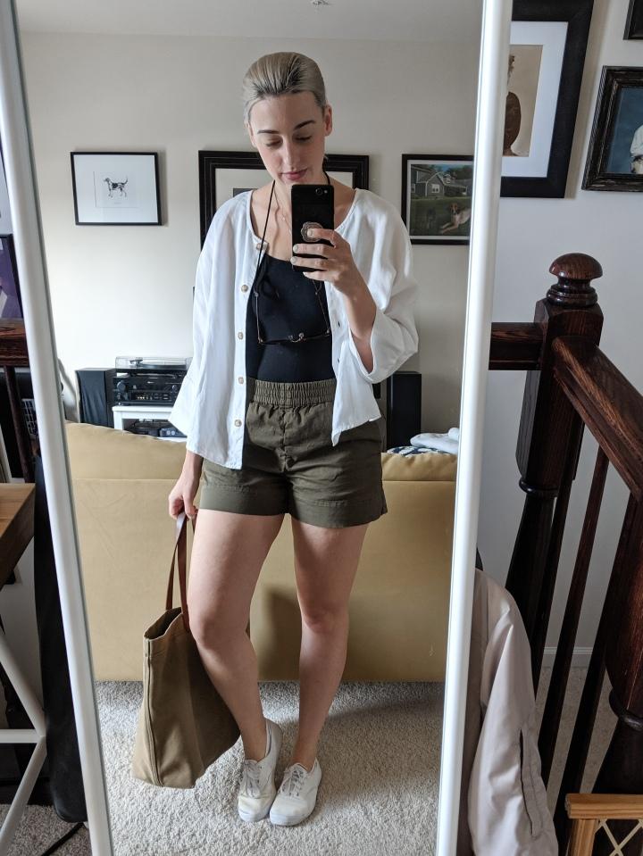 everlane easy chino shorts