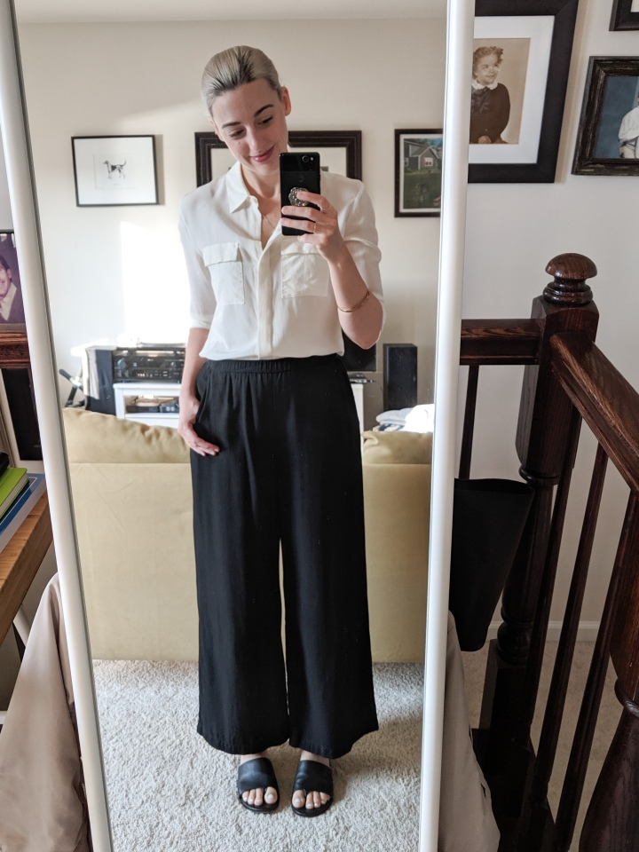 goblin shark thrifted outfit