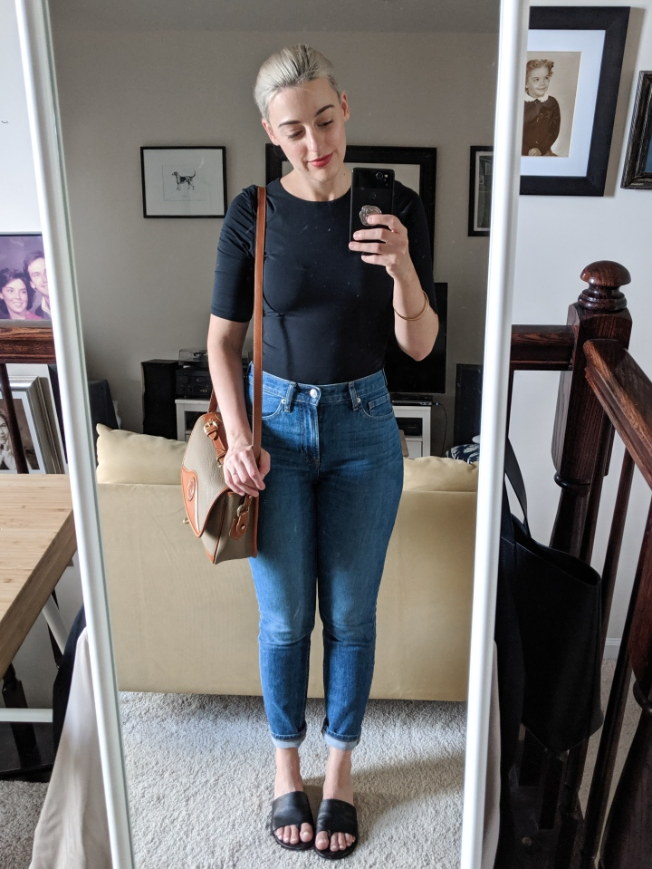 everlane bodysuit outfit 2
