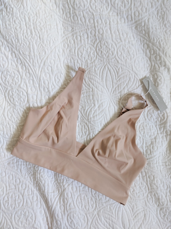 everlane renew bra tan