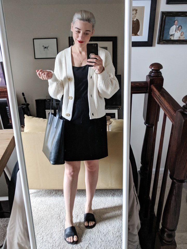 everlane texture cotton crop sweater review