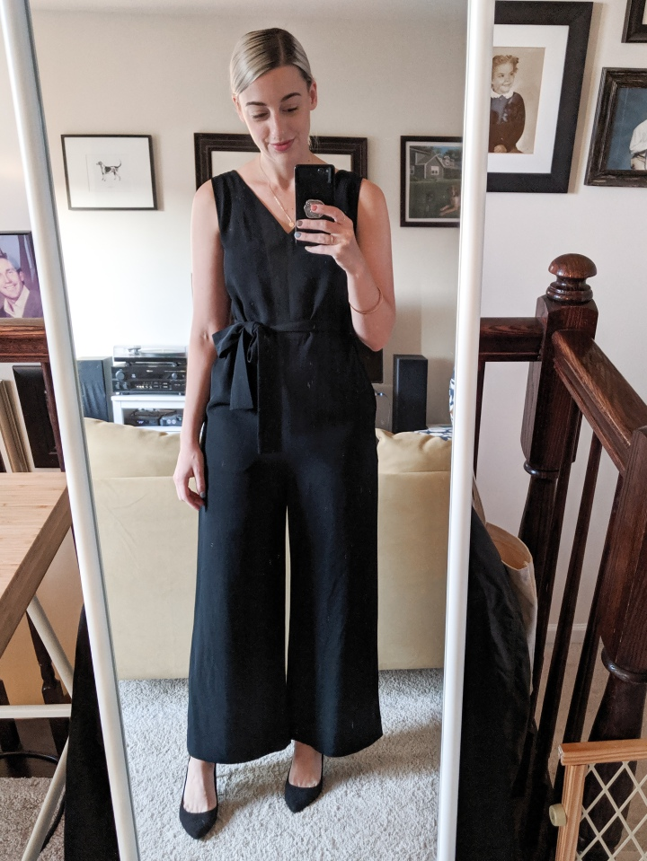 everlane essential jumpsuit