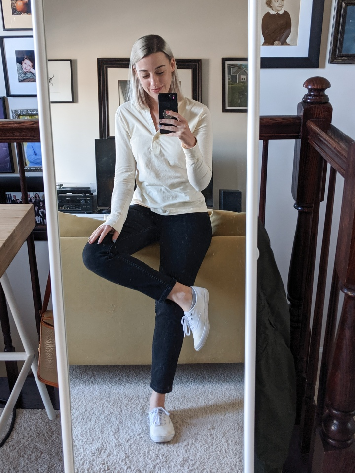 Outfits, Sickness, Grad School, and an Everlane Sale