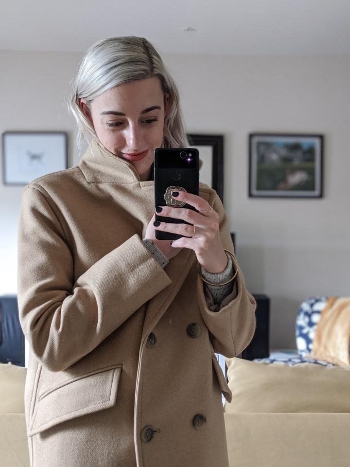 everlane rewool overcoat review