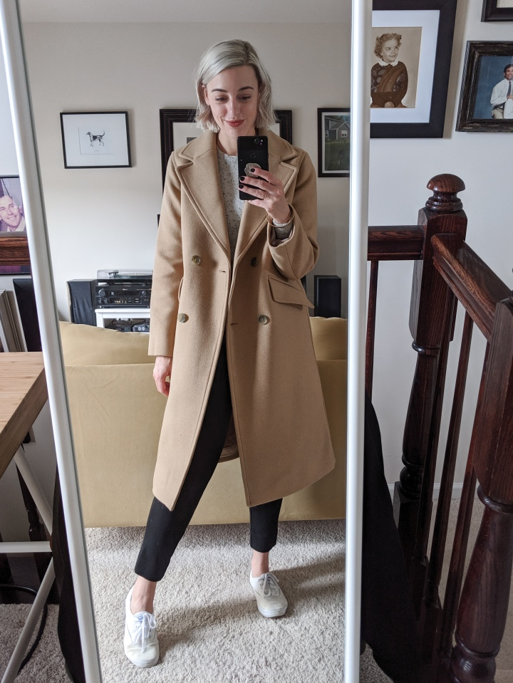 everlane italian rewool overcoat review