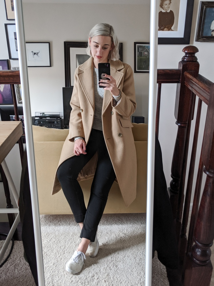 everlane italian rewool coat review