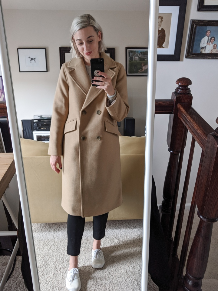 everlane wool overcoat review