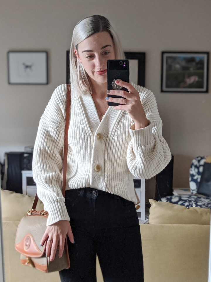 everlane texture cotton sweater