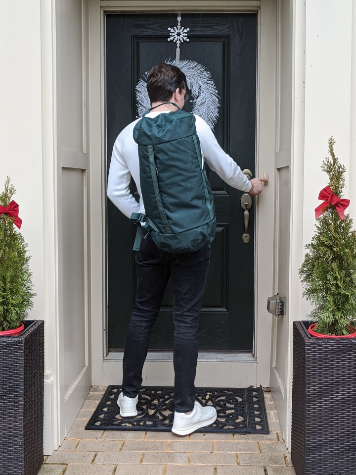 everlane mover pack and tread trainer