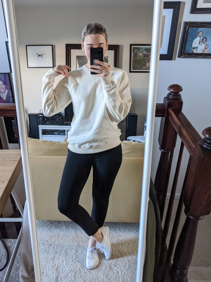 tradlands varsity sweatshirt review