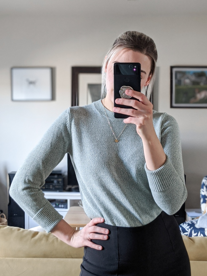 everlane soft cotton crew sweater