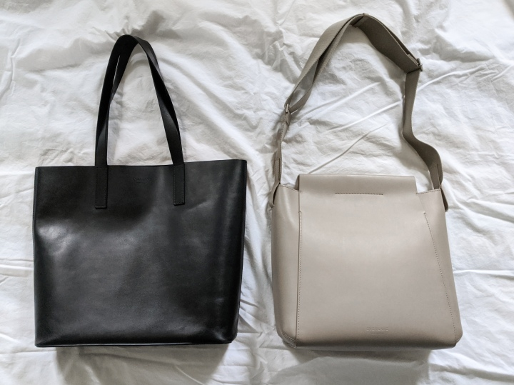 everlane form bag vs day tote
